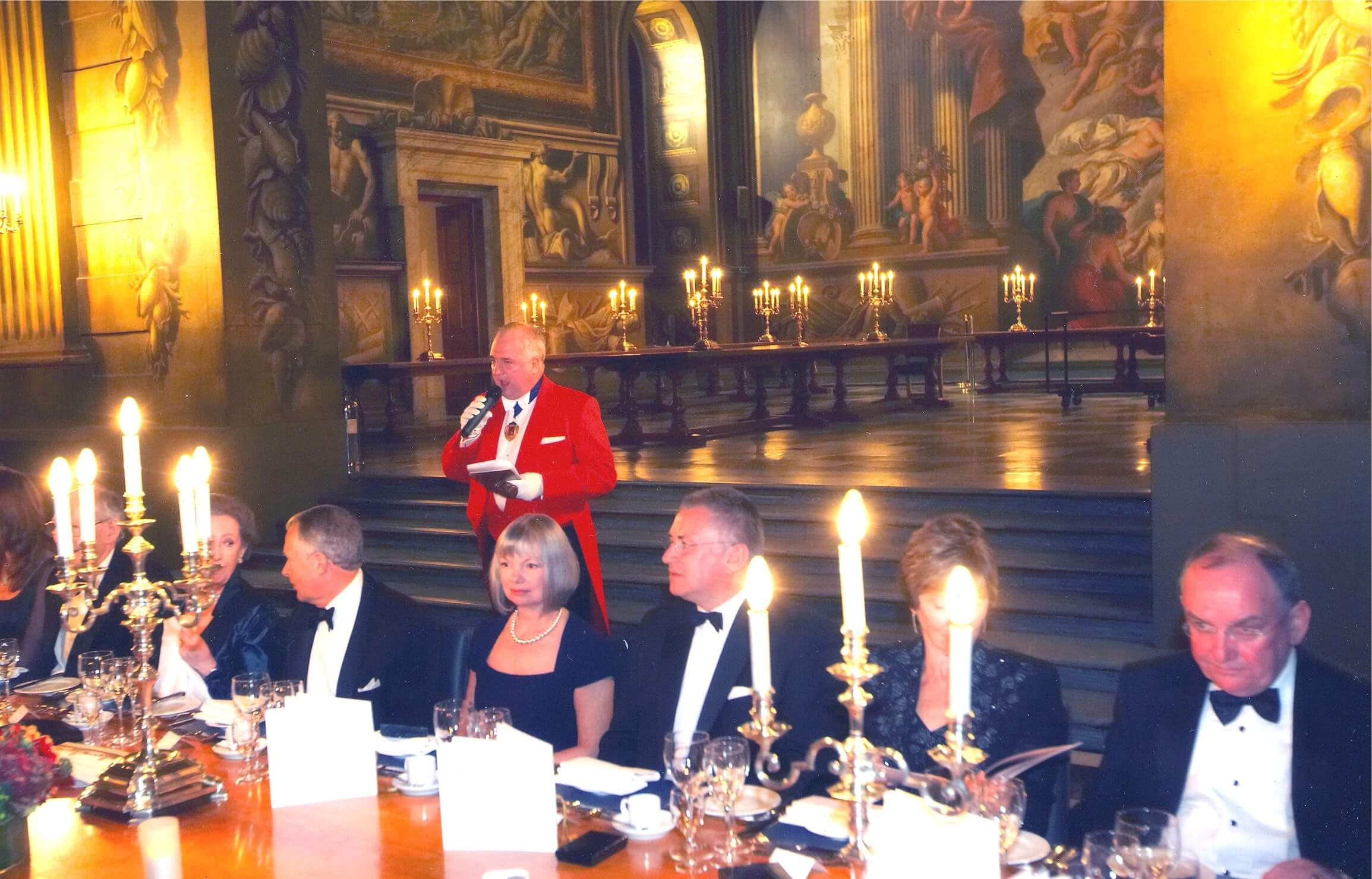 Toastmaster at the Caravan Club corporate dinner