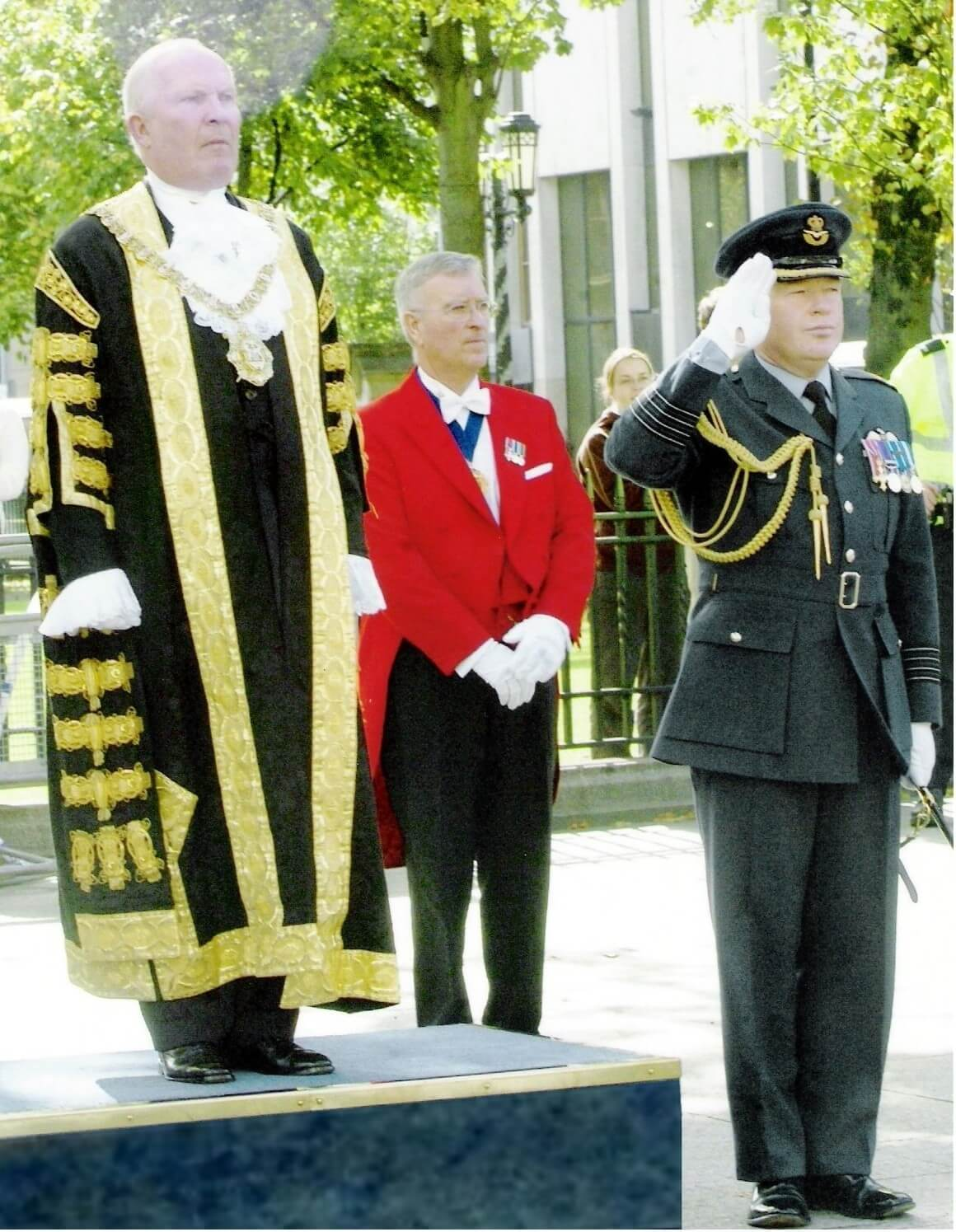 Toastmasters at Lord Mayor civic ceremony