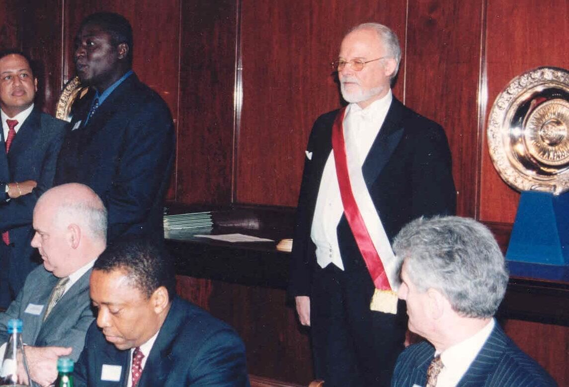 Toastmaster at Civic function - master of ceremonies