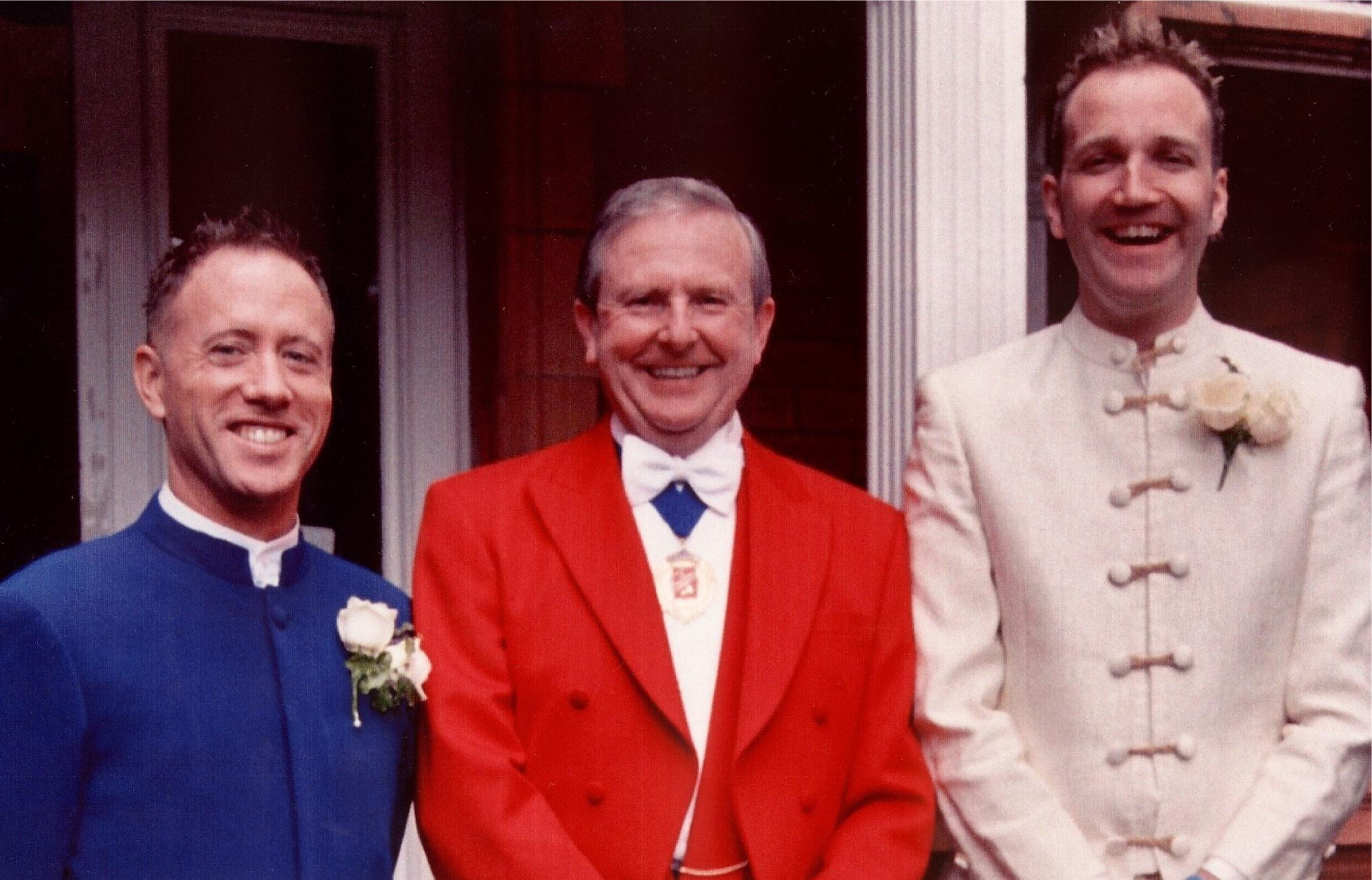 Toastmaster at a same-sex wedding