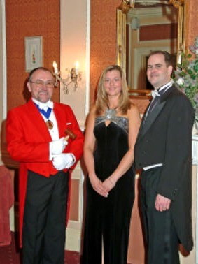 Toastmaster at Masonic Ladies Festival