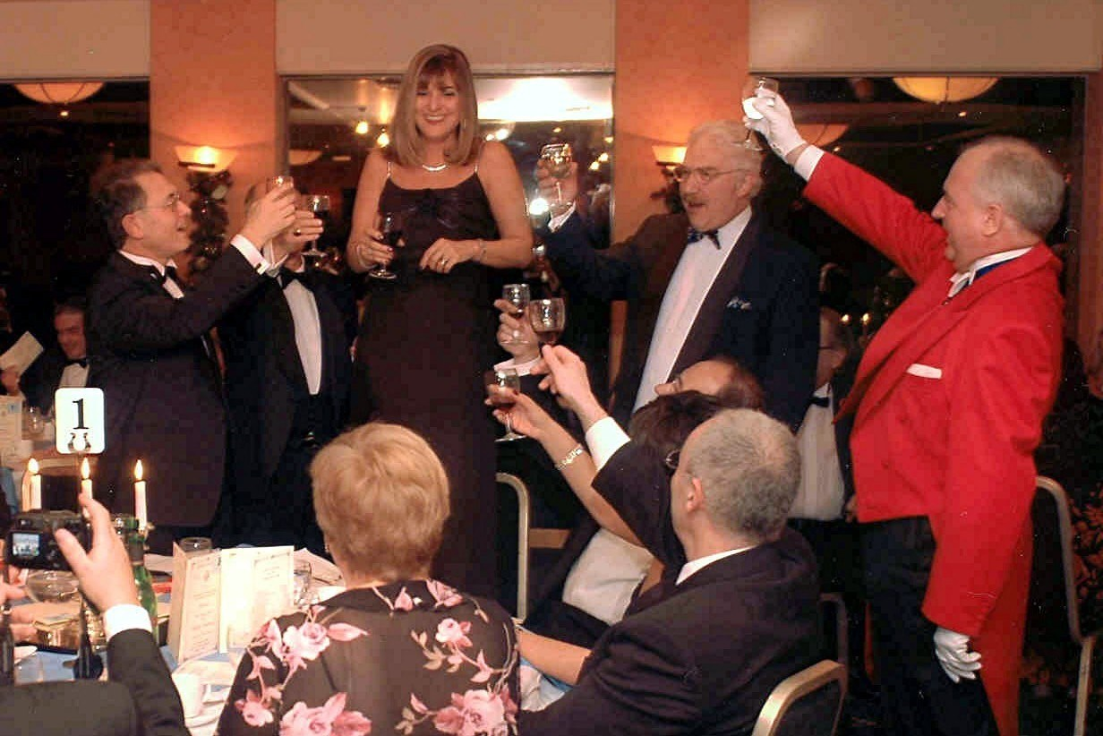 Toasting the Lady at Masonic Ladies Festival