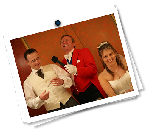 professional toastmaster for weddings