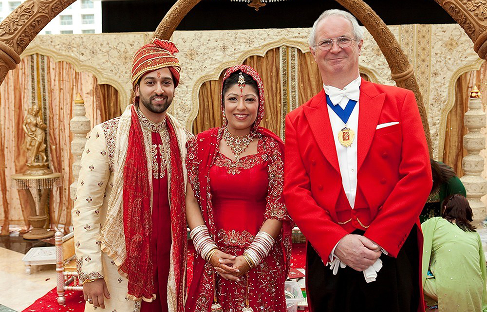 professional toastmaster for hindu wedding