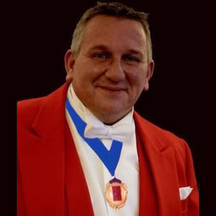 Professional Toastmaster and Master of Ceremonies Hampshire - Andi Parker