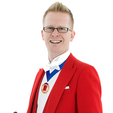 Professional Toastmaster and Master of Ceremonies Sussex - Dan Hale