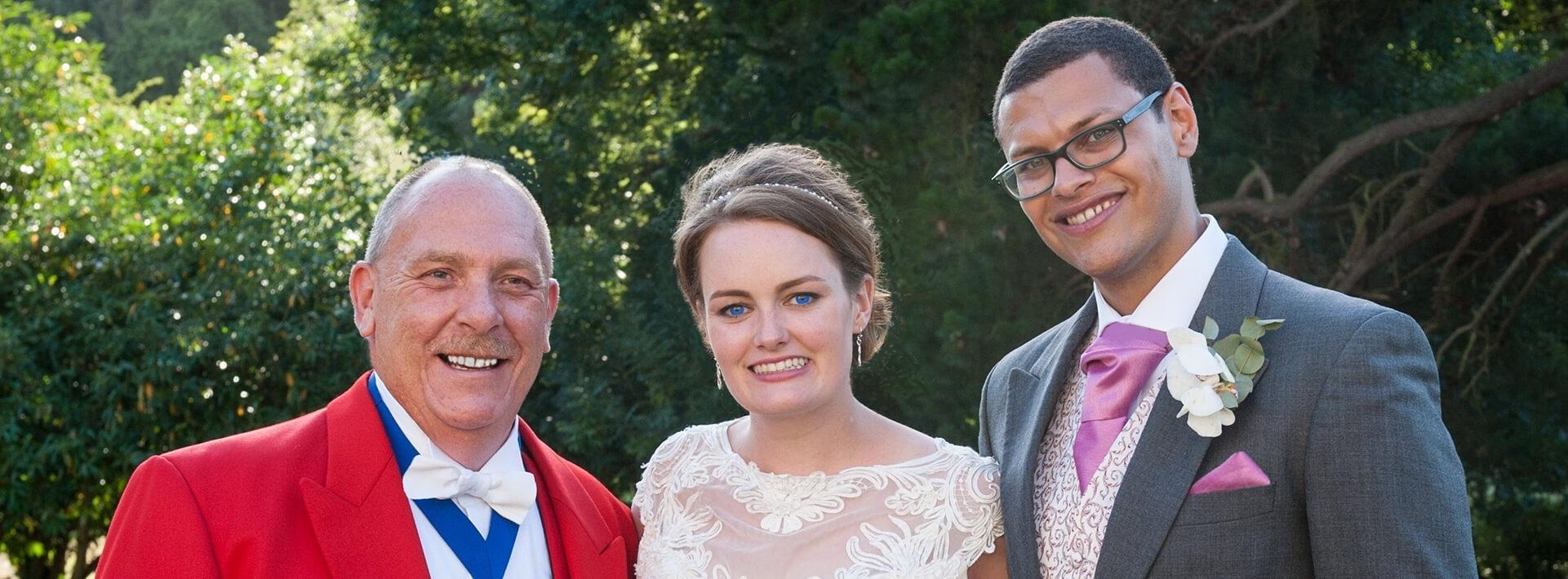 professional wedding toastmasters