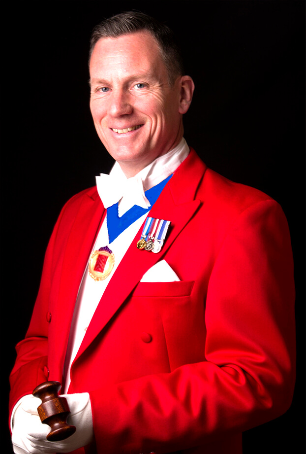 Professional Toastmaster and Master of Ceremonies Essex and Home Counties - Guy Wade