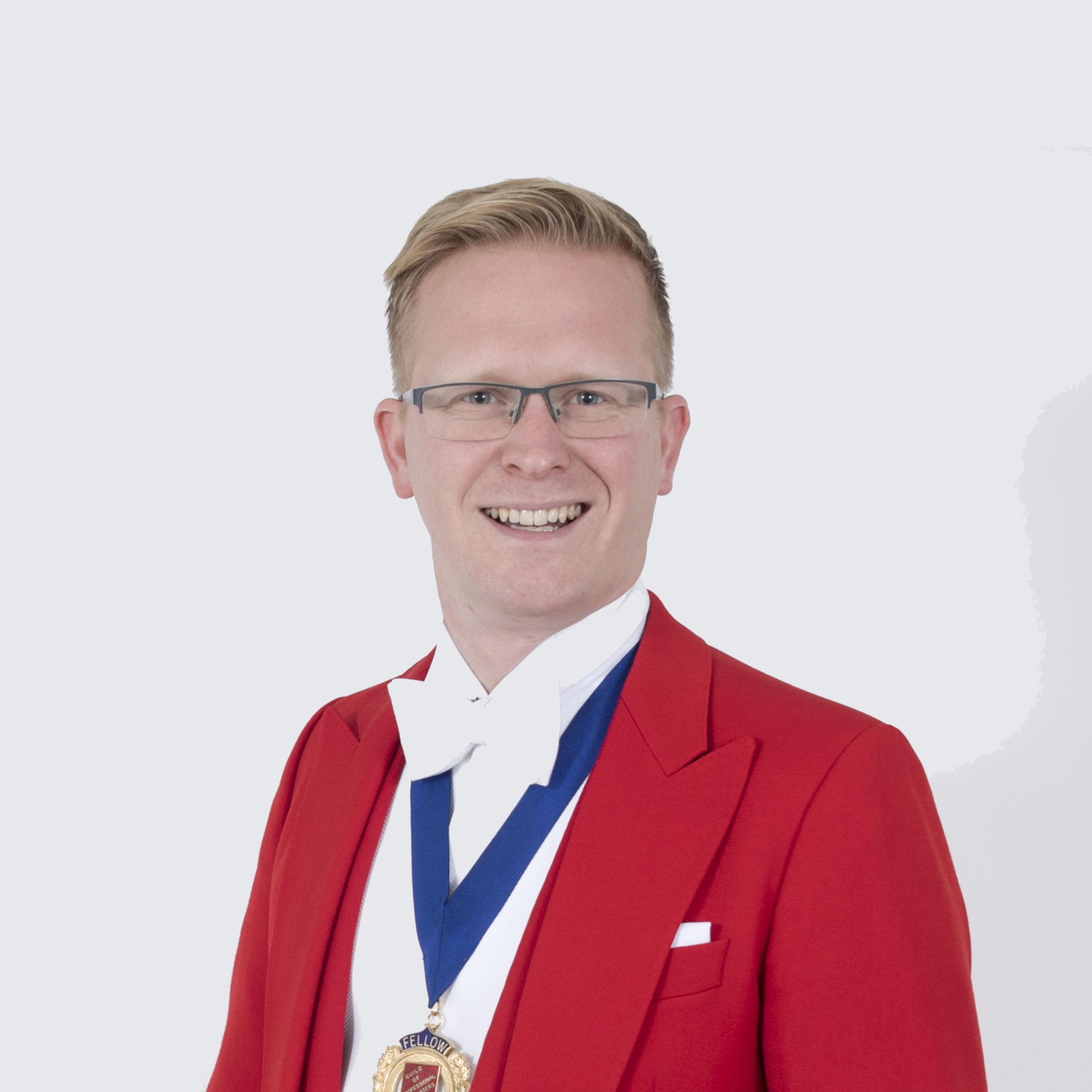 Dan Rennie Hale - professional toastmaster Sussex
